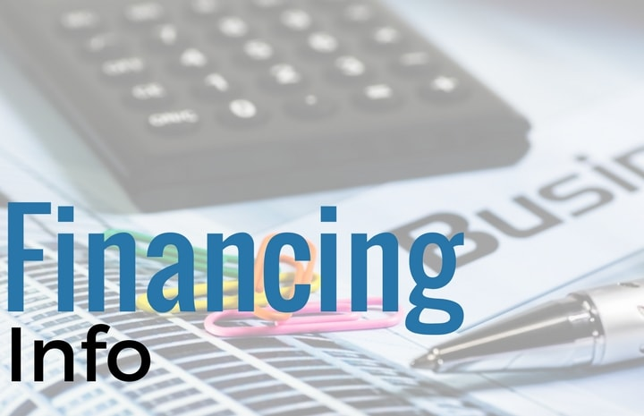 financing info